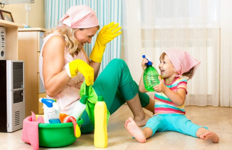 Ways To Make Cleaning Fun For Your Kids