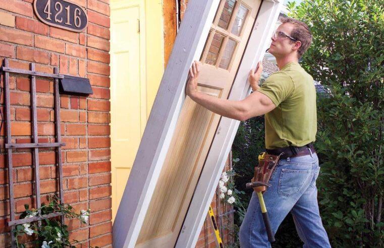 When should I replace my front door?